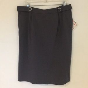 SALE NWT Grace Elements ponte pencil skirt